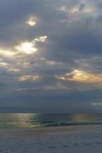Vertical Sunshine Peeking Thro...