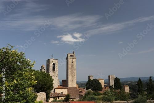 Fotografie, Obraz  San Gimignano Tuscany Italy