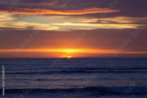 Foto op Plexiglas Europa Sunset at Strandhill Beach