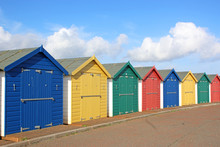 Beach Huts, Dawlish Warren, De...
