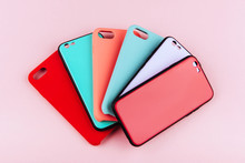 Set Of Colored Silicone Covers...