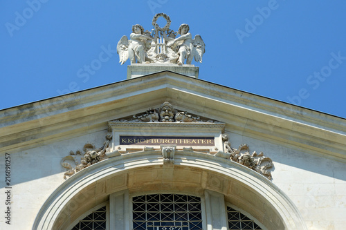 Spoed Foto op Canvas Theater Burgtheater in Vienna - Austria.