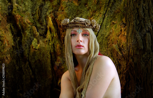 Christian woman posing nude