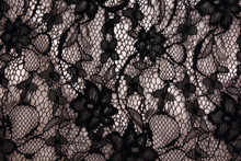 Sexy Retro Negligee Material. Decorative Pattern Of A Womans Vintage Lingerie.