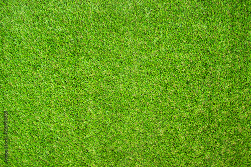 Foto auf Leinwand Gras Beautiful Green artificial grass background vignette or the naturally walls texture Ideal for use in the design fairly. natural pattern texture fresh spring from golf course or soccer field.