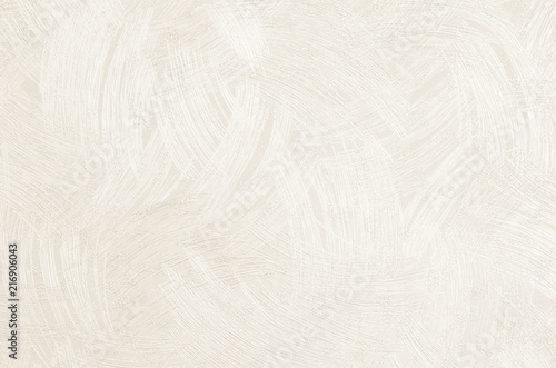 Obraz na plátne Design bedroom wall or reception room decorated with a wallpaper texture background