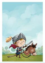 Niño Caballero Con Caballo En...