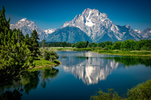 Reflections Of The Tetons In T...