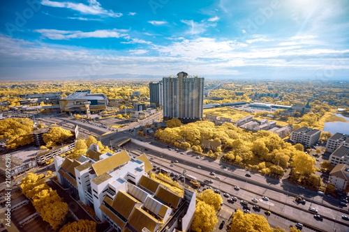 Foto op Plexiglas Stad gebouw Chiang Mai metropilis cityscape in Thailand