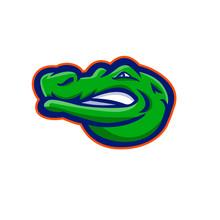 Alligator Head Mascot