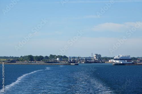Fotobehang Poort Hafen von Puttgarden auf Fehmarn