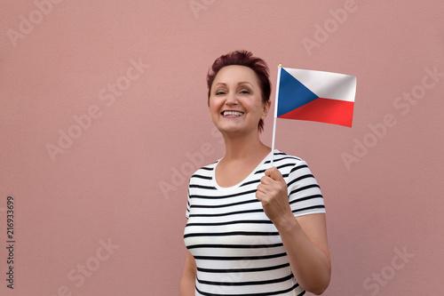 Czech flag Poster