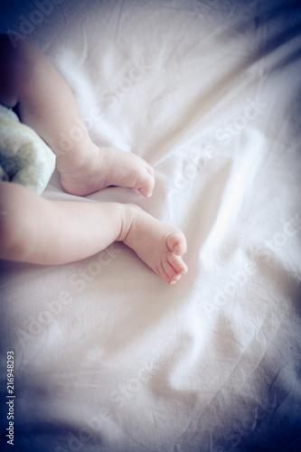 Baby legs.