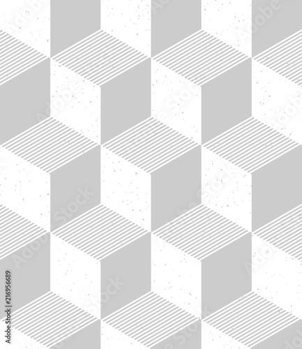 Obrazy szare szare-szesciany-3d