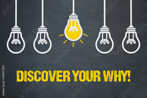 Discover your Why! Wallpaper Mural