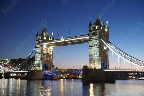 London Bridge Tower River England Thames Architecture Uk Landmark Night Water City Blue Tourism Britain Sky Travel