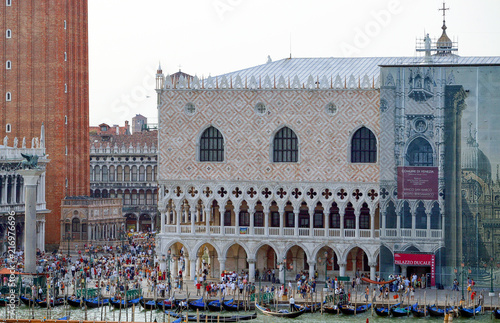 Spoed Foto op Canvas Mediterraans Europa The beautiful places of Venice