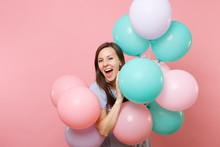 Portrait Of Joyful Young Happy...