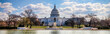 canvas print picture - US Capitol 8 (Banner)