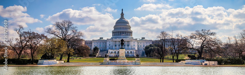 US Capitol 8 (Banner) Canvas Print