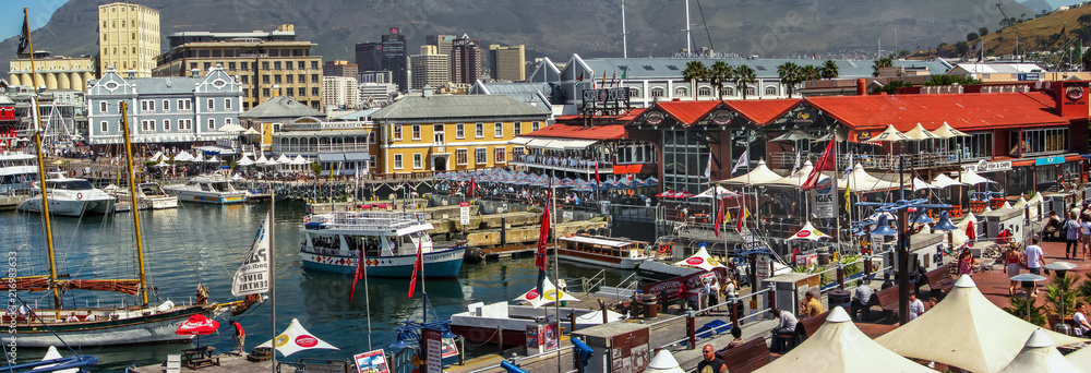 Fototapety, obrazy: Cape Town Waterfront Panorama