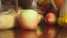 Autumnal Harvest Or Thanksgivi...