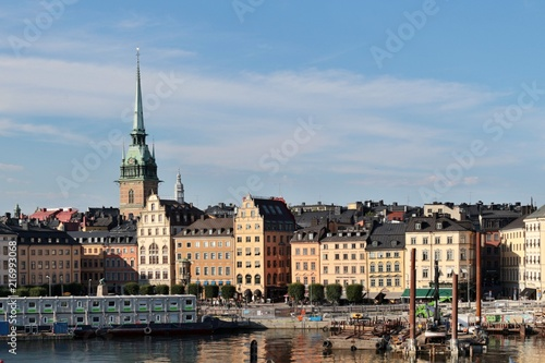 Spoed Foto op Canvas Stockholm Stoccolma