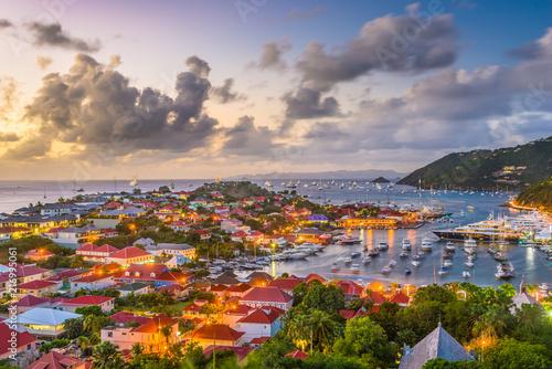 Fotografie, Obraz  Gustavia, St. Barths in the Caribbean