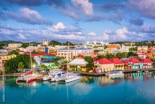 St. John's, Antigua and Barbuda Canvas Print