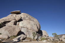 Cap Rock Picnic Area With Climber
