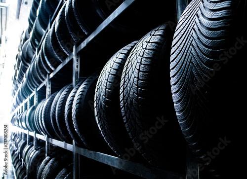 Autoreifen | Reifen Lagerung | Werkstatt Reifenwechsel Canvas-taulu