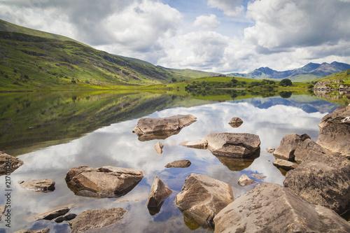 Fotografia Blick auf Mount Snowdon im Snowdonia Nationalpark