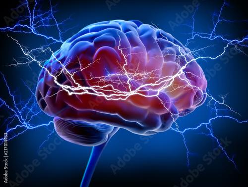 Gehirn - Energie - Intelligenz Tablou Canvas