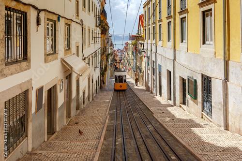 Fototapety, obrazy: Lisbon. Old tram.