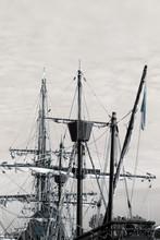 Mast Of Old Galleon