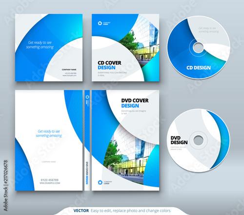 Fotografía CD envelope, DVD case design