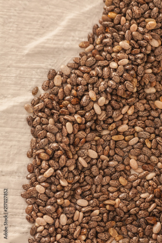 Organic black chia seed