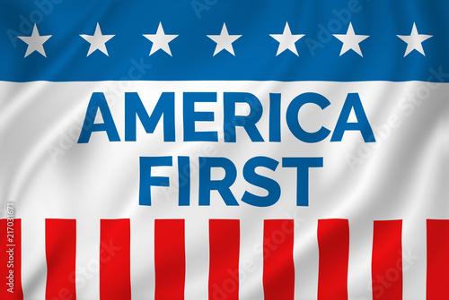 Fototapeta  America First