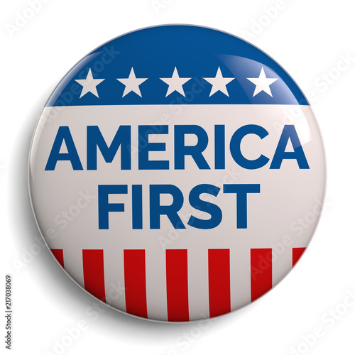 America First Canvas Print
