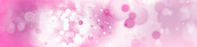 Abstract Pink Circles Background