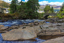 Falls Of Dochart, Scotland