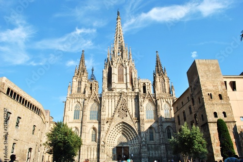 Fotomural Katedra świętej Eulalii, Barcelona