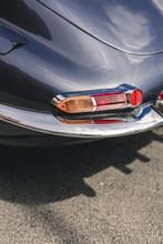 Vintage Sports Car Rear
