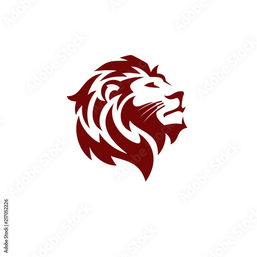 Photo  Lion Logo Template