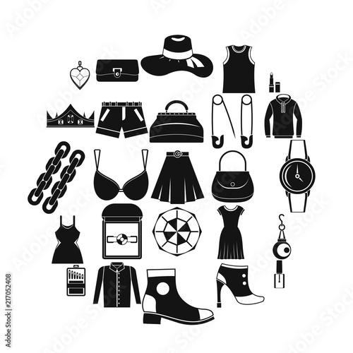 Fotografie, Obraz  Possessions icons set