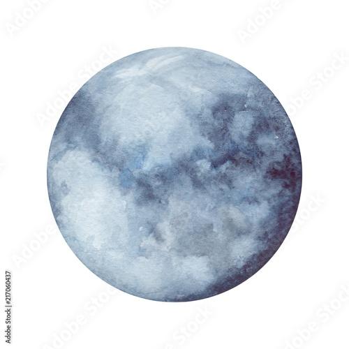 Fotografie, Obraz  Watercolor planet