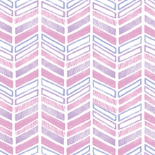 Purple Pink Tribal Chevron Repeat Pattern Design. Great For Folk Modern Wallpaper, Backgrounds, Invitations, Packaging Design Projects. Surface Pattern Design.