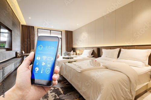 smart home in hotel