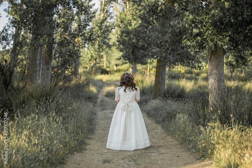 Foto  Chica en el campo