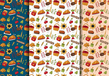 Thanksgiving Seamless Pattern ...